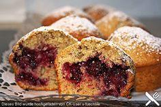 Saftige Pflaumen - Muffins (Rezept mit Bild) von Meer0563 | Chefkoch.de