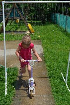 Come Together Kids: Fun PVC Sprinkler