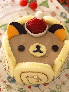 Rilakkuma chocolate moose cake