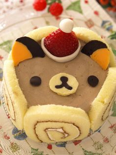 Rilakkuma chocolate moose cake