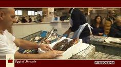 Al mercato San Benedetto: I prodotti della piccola pesca. Una ricetta al giorno: Tonno panato alla Algherese.