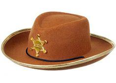 chapeau de cow-boy avec étoile de shérif