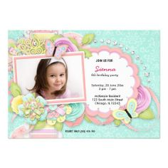 Sold this #pretty #birthday girl invitation to GA. Thanks for you who purchased this.
