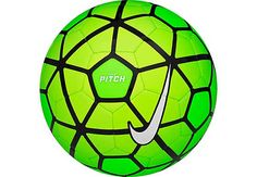 Nike Pitch Soccer Ball - Green and Volt