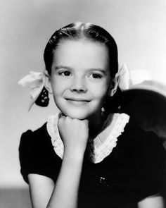Little Natalie Wood, she was an adorable child actress.