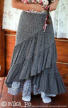 Model ve stylu Boho: šít nebo ne šít - Fair Masters - ruční práce, ruční Mori Girl Fashion, Boho Fashion, Floaty Dress, Dress Skirt, Bohemian Mode, Boho Chic, Style Bobo Chic, Skirt Fashion, Fashion Outfits