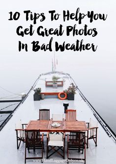 10 Tips To Help You Get Great Photos In Bad Weather - Hand Luggage Only - Travel, Food & Home Blog