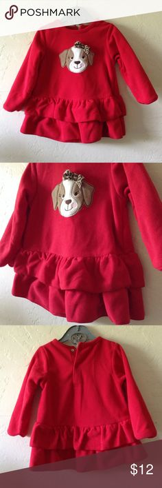 Girls Red Dress Size 18M Size 18M Dresses
