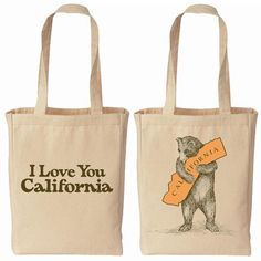 California Bear Hug Tote at the Huntington Store.   http://www.thehuntingtonstore.org/collections/california/products/california-bear-hug-canvas-tote