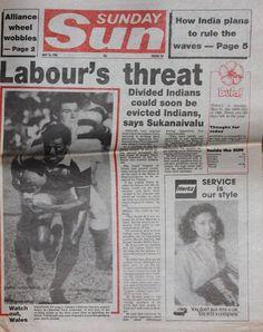 SCRIVOQUANDOVOGLIO: THE SUN (25/05/1986)