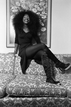 """vintageblackglamour: """"Happy 62nd Birthday to the Beautiful Legendary Chaka Khan! Forgive me for the late post - but we can still have a mini-party in Ms. Khan's honor before the clock strikes twelve..."""