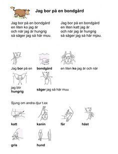 Mariaslekrum - Tecken. Learn Swedish, Swedish Language, Work Hard, Preschool, Writing, Education, Learning, Communication, Musik