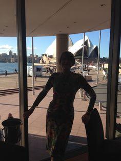 Me in Aria Restaurant, The Rocks, Sydney, Australia