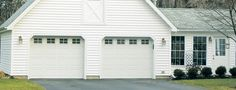 Premium insulated steel garage doors that will help keep your garage comfortable in cold and hot climates. | Standard Design | Thermacore® Collection | Learn more at overheaddoor.com