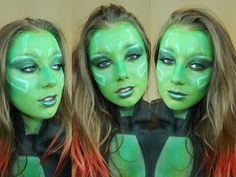 Gamora Gaurdians Of The Galaxy Tutorial - YouTube