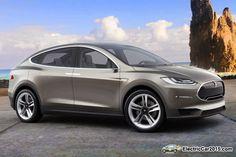2016 Tesla Model X SUV --- Okt. 2015.