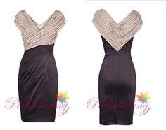 2014 New black mother of the bride dresses V by PerfectFeeling, $99.00