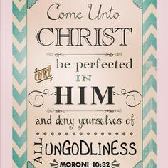 Come unto Christ! Go 2014 !!#youththeme#lds#2014#sfy#mormon#quotes#scriptures#pinterest#youngwomen#youngmen / http://www.contactchristians.com/?p=12889