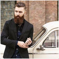 Having a long beard makes you look more dashing!