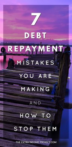 If you want to be debt free? Check out 7 Debt Repayment Mistakes You Are Making and How to Stop Them! This post will help you understand budgeting so you can pay off debt fast Paying Off Student Loans, Student Loan Debt, Debt Repayment, Debt Payoff, Debt Consolidation, Budgeting Finances, Budgeting Tips, Debt Snowball, Paying Off Credit Cards