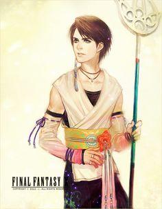 Final Fantasy Male Version - Gender-bend
