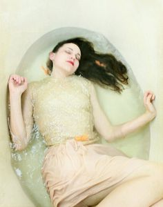 Her Very Own Sea  FREE SHIPPING Print. Caryn Drexl Photography. Conceptual, Surreal, Portraits.