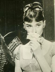 Audrey Hepburn in War and Peace (1956).
