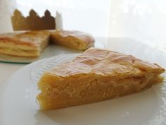 Galette des rois frangipane & pommes vanillées
