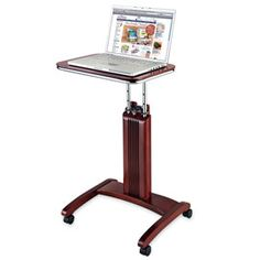 This desk is as portable and convenient as your laptop! | Solutions.com #Home