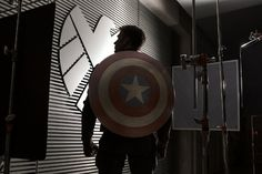 First look at Chris Evans in 'Captain America: The Winter Soldier'