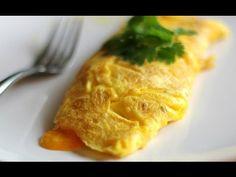 Como hacer un Omelette/ Receta facil - YouTube