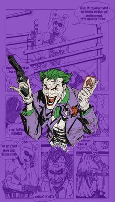 Trendy Ideas For Wallpaper Masculino Fodase Arte Dc Comics, Marvel Comics, Batman Wallpaper, Tumblr Wallpaper, Joker Dc, Joker And Harley Quinn, Joker Comic, Comic Books Art, Comic Art