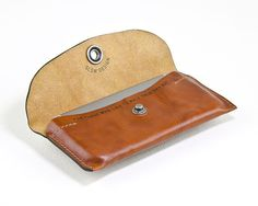 iPhone SLOWDESIGN washed leather pocket LIGHT BROWN by portel