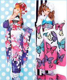 Modern Furisode Kimono
