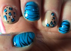 animal prints - Nail Art Gallery
