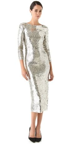 FABBY abbey // alice + olivia Abbey Sequin Dress