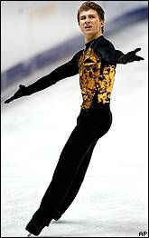 Alexei Yagudin. 2002 Olympic Figure Skating Champion.  one of my favorite skaters! :)
