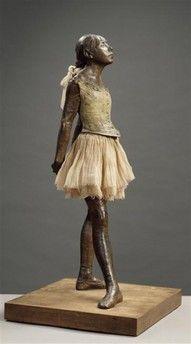 Degas    I love this little dancer