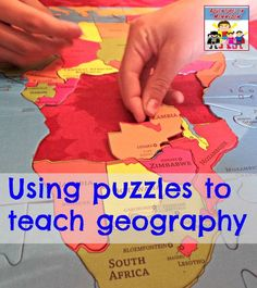 Using puzzles to teach geography