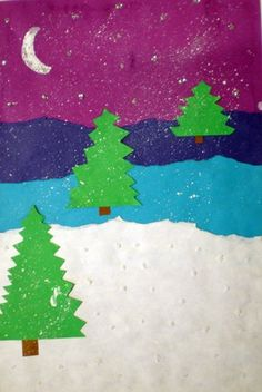 Could be a fun art and paragraph writing...The Best Things About Winter or My Favorite Part of Winter
