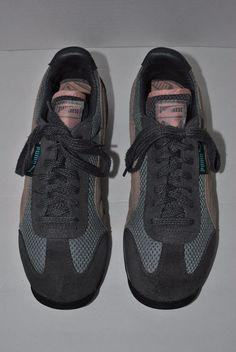 c8cf17bf6ada06 Vintage Women s Puma Tennis Shoes Sneakers Size 8.5 Dark Grey Pink  PUMA   Tennis Puma