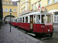 Vienna...where trams really are the easiest way to get around the city.