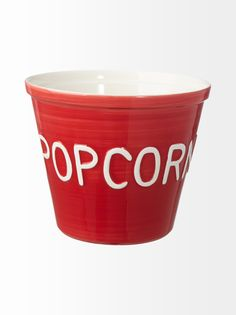 Kuvahaun tulos haulle popcorn kulho punainen Popcorn, Home Kitchens, Planter Pots, Tableware, Design, Dinnerware, Dishes, Kitchens, Design Comics