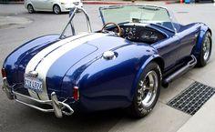 Ac Shelby Black Cobra Car