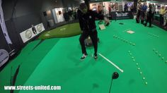 Indoor golf for corporate events