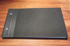 Hardcover Portfolio book - tutorial - Imgur