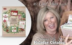 VIDEO: 40 Holiday Catalog cards in 15 minutes plus new Giveaway | Stampin Up Demonstrator - Tami White - Stamp With Tami Crafting and Card-Making Stampin Up blog