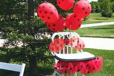 Out of this world lady bug party! So many ideas! ladybug-first-birthday Baby 1st Birthday, First Birthday Parties, Birthday Ideas, Birthday Chair, Birthday Highchair, Bday Girl, Frozen Birthday, Birthday Bash, Ladybug 1st Birthdays