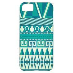 Aztec Print iPhone 5C Covers