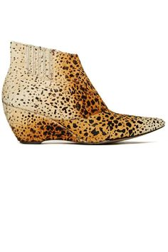 Mattise Animal Print Ankle Boot - Shop more chic ankle boots at ShopBAZAAR.com http://www.harpersbazaar.com/best-ankle-boots-by-price